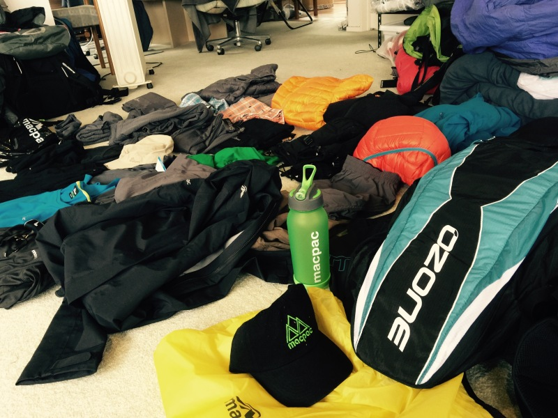 Ozone and Macpac sponsors xalps